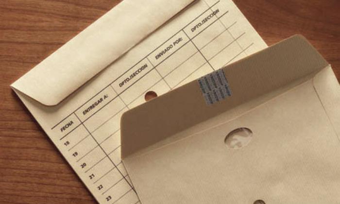 Sobre correo