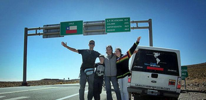 Como viajar con mi carro por Sudamerica