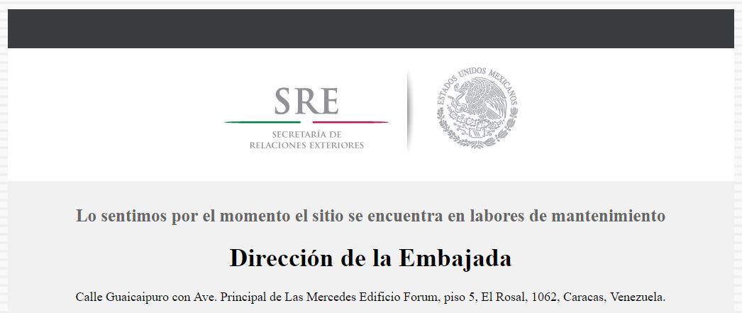 Embajada de México en Venezuela