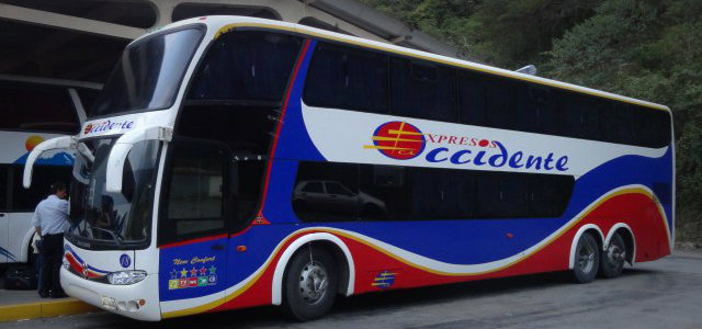 Expresos occidente hasta San Cristóbal