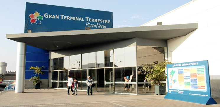Terminal terrestre Plaza Norte