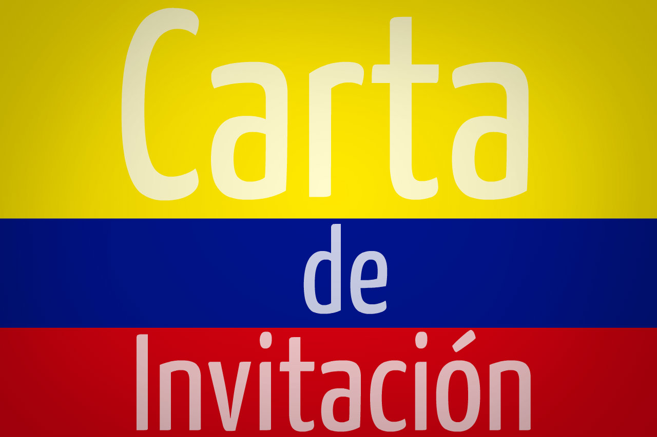 Carta de invitación a Colombia