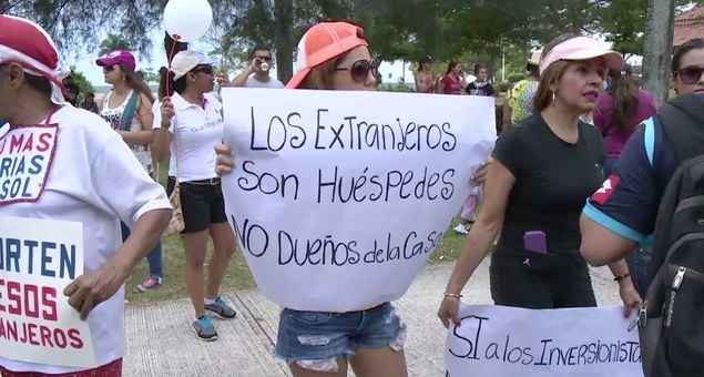 Xenofobia en Panamá