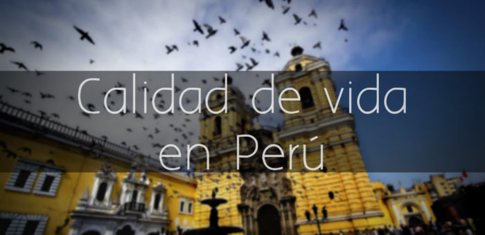Calidad de vida en Peru