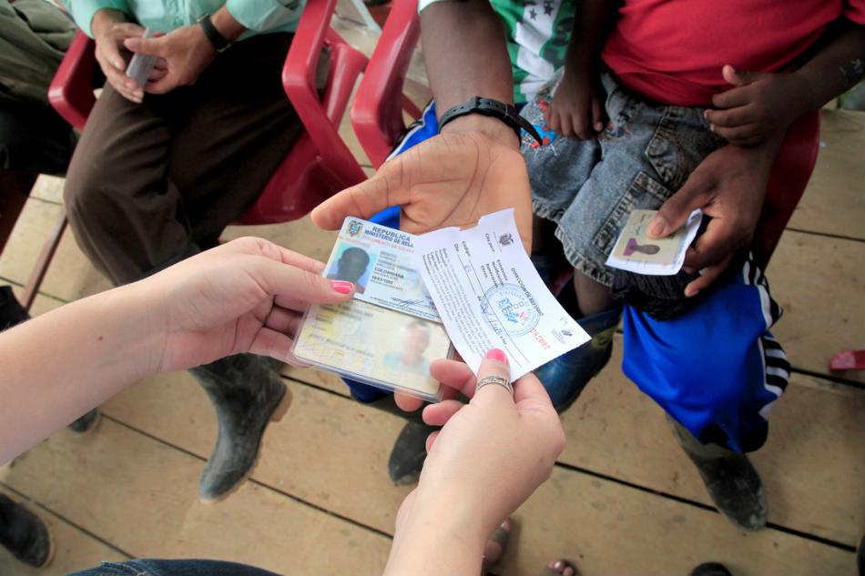 Certificado de refugio en Ecuador