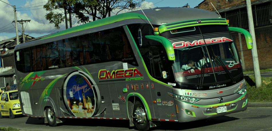 Expresos Omega para viajar por Colombia