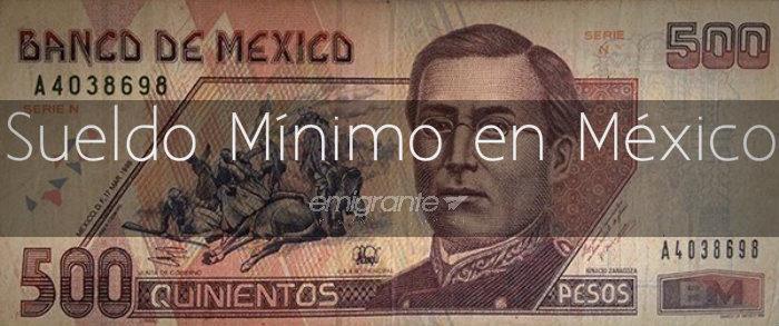 Sueldo mínimo en México