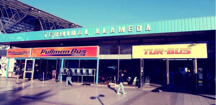 Terminal de buses de Santiago de Chile