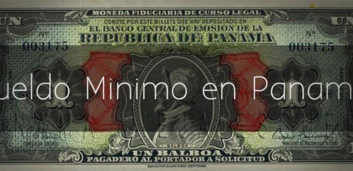 Sueldo Mínimo en Panamá