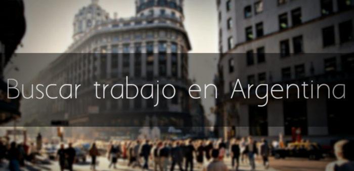 Buscar trabajo en Argentina