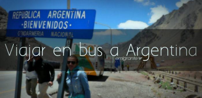Viajar en bus a Argentina