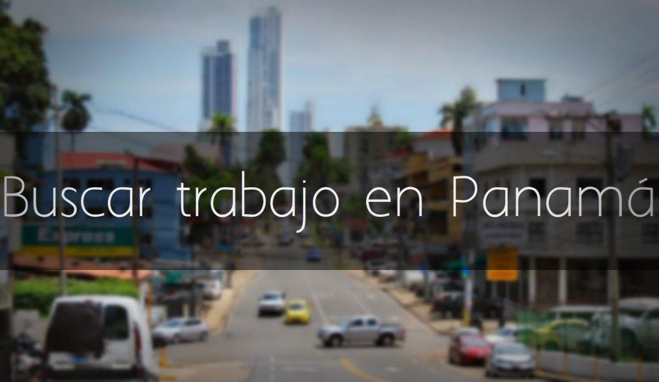 Buscar trabajo en Panamá
