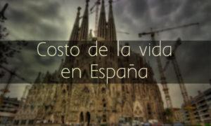 Costo de la vida en España
