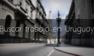 Donde buscar trabajo en Uruguay