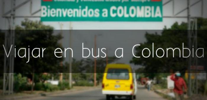 Emigrar a Colombia en bus