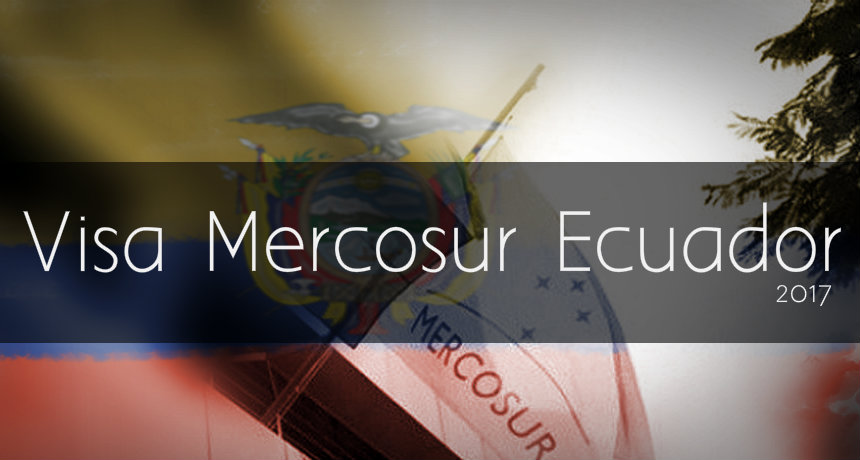 Visa Mercosur Ecuador
