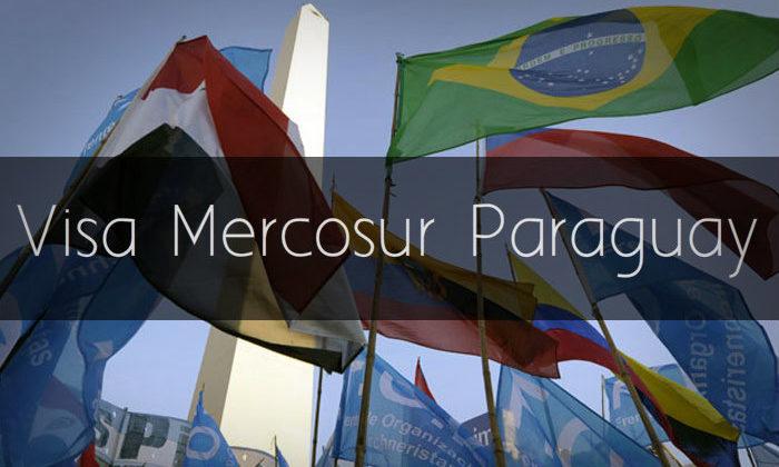 Visa Mercosur Paraguay