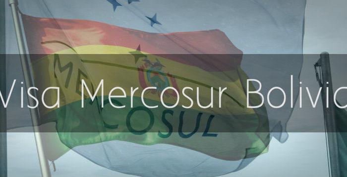 Visa Mercosur en Bolivia