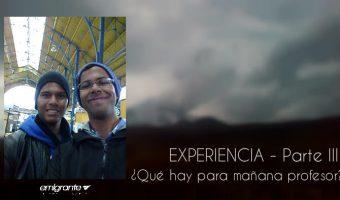 Experiencia Que hay para mañana profesor VII