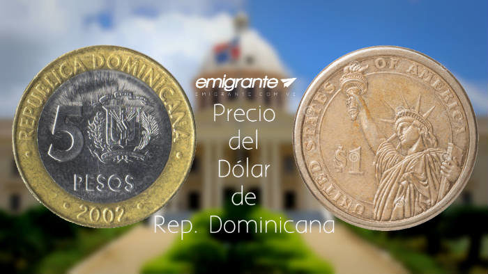 Precio del dólar en República Dominicana