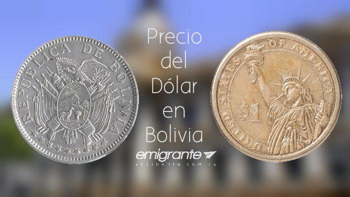 Precio del dolar en Bolivia