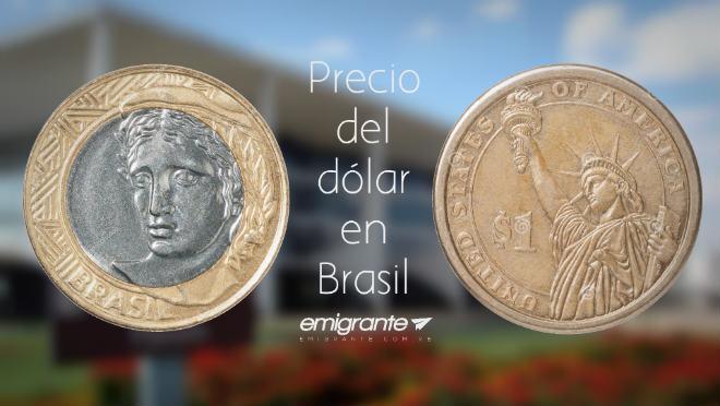 Precio del dólar en Brasil