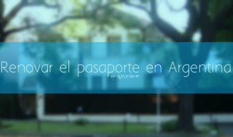 Renovar el pasaporte venezolano en Argentina