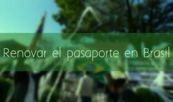Renovar pasaporte en Brasil