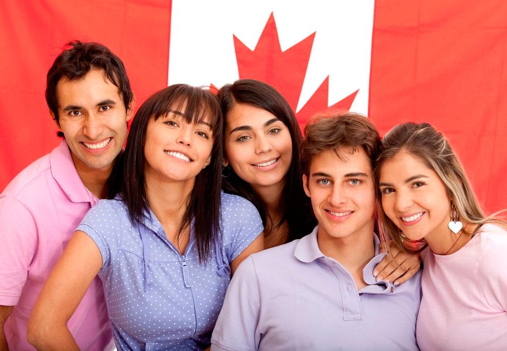 Estudiantes emigrantes en Canadá