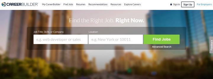 Career Builder Pagina de Trabajo en el exterior
