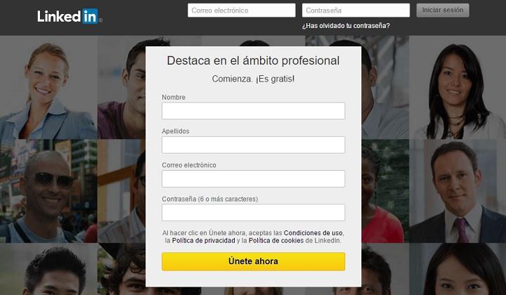 LinkedIn Pagina de Trabajo en el exterior