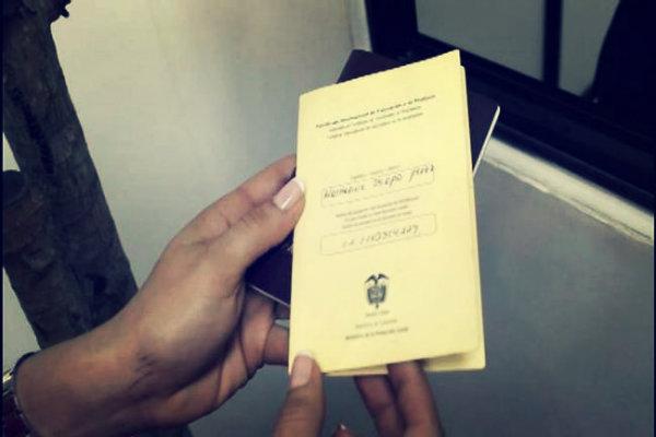 Certificado de Fiebre Amarilla