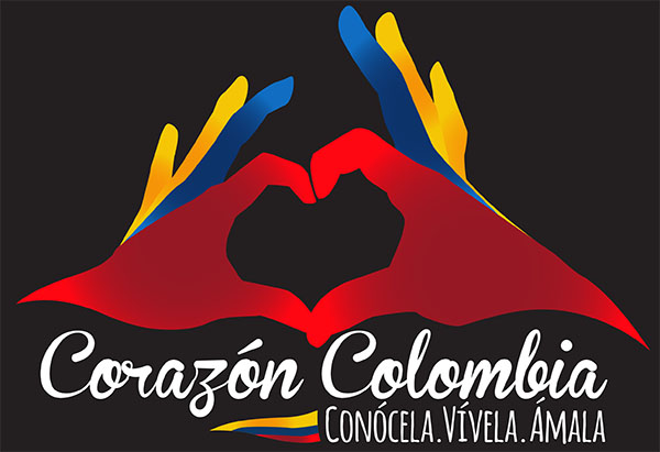 Portal sobre la emigración Corazón Colombia