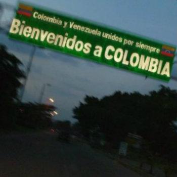 Entrada de Colombia Venezuela
