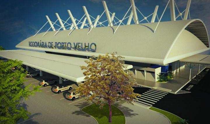 Ni creas que cuando llegues a Porto Velho te vas a encontrar este terminal, esto es solo un proyecto en ejecución.