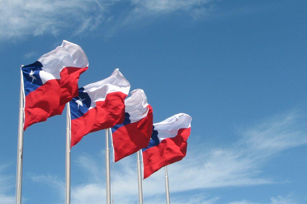 Banderas Chile