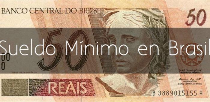 Sueldo mínimo en Brasil 2017