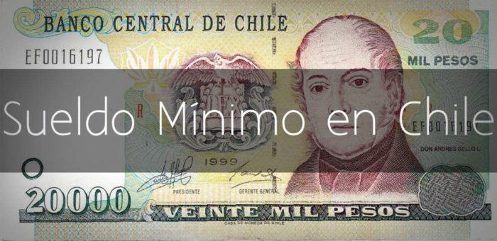 Sueldo mínimo en Chile 2017