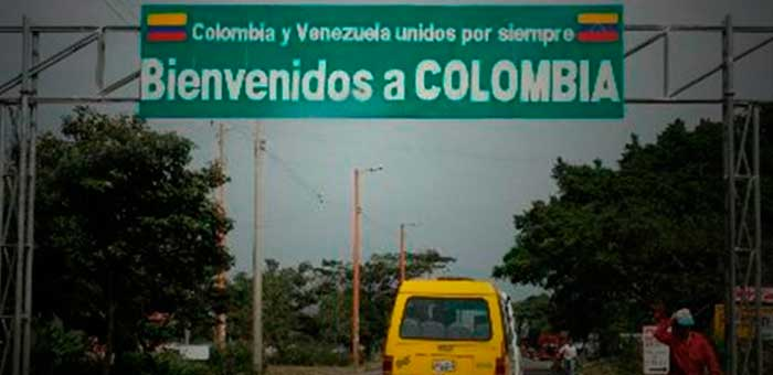 Frontera con Colombia destacada