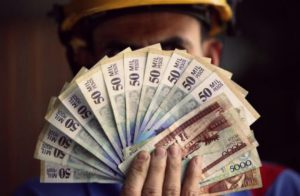 sueldo mínimo en Colombia
