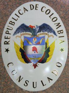 Logo Consulado de Colombia en Venezuela