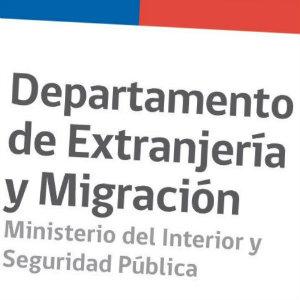 Dirección de la oficina de extranjería de Chile más cercana