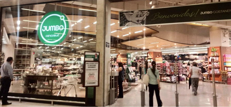 Jumbo supermercado en Chile