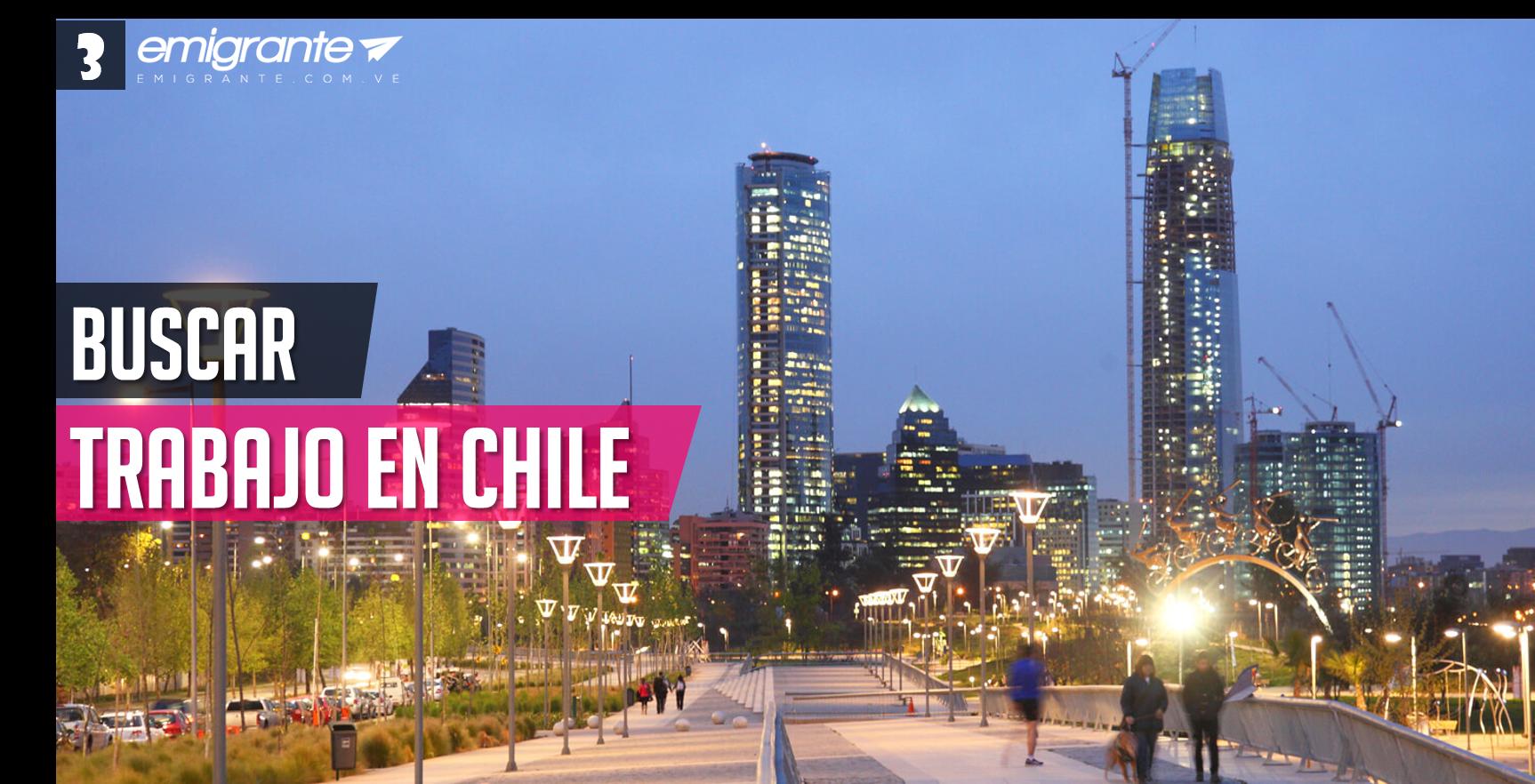 Buscar trabajo en Chile 201