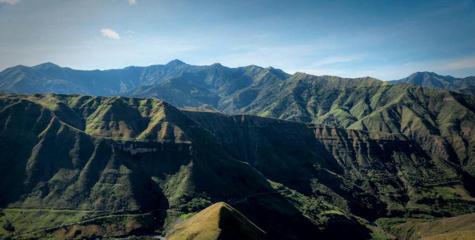 Cordillera central de Colombia-emigrar a Ecuador