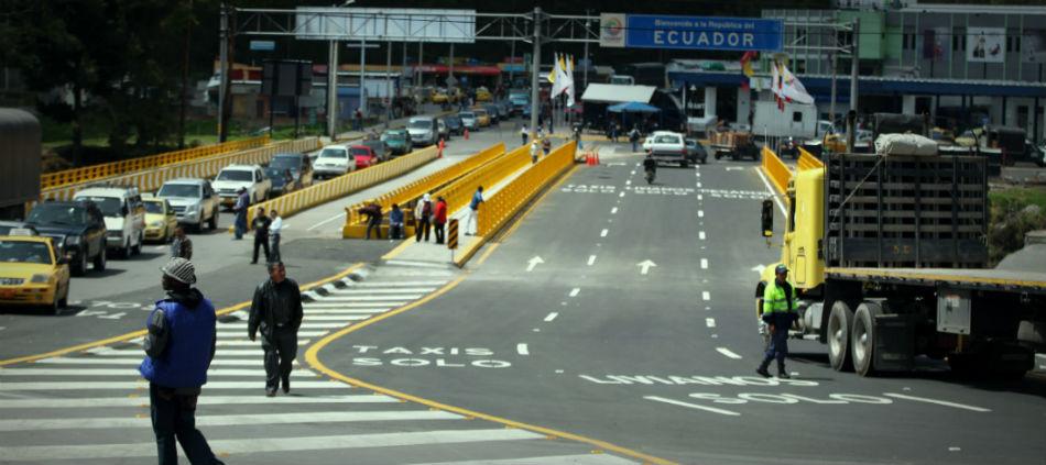 Frontera entre Ecuador y Colombia