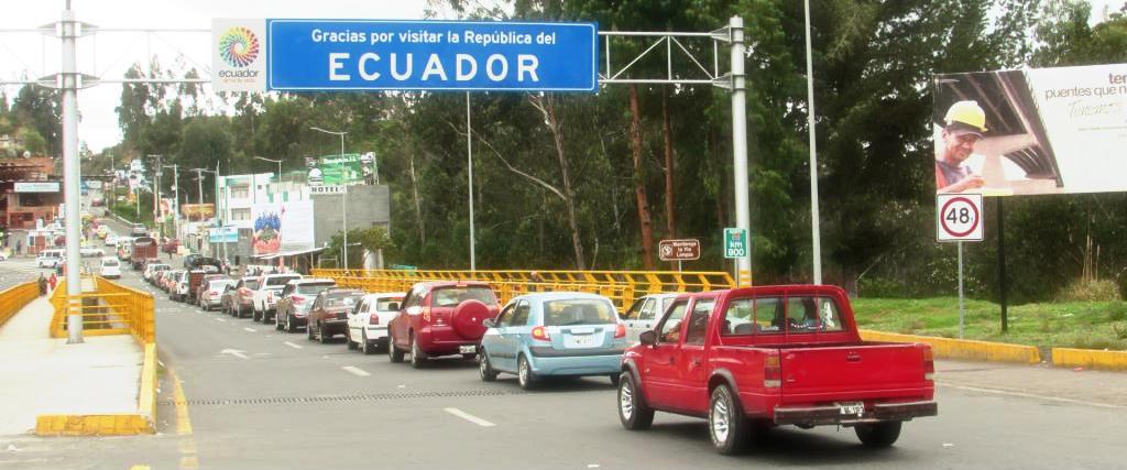 Ipiales frontera con Ecuador