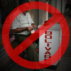 NO a los revendedores de pesos colombianos