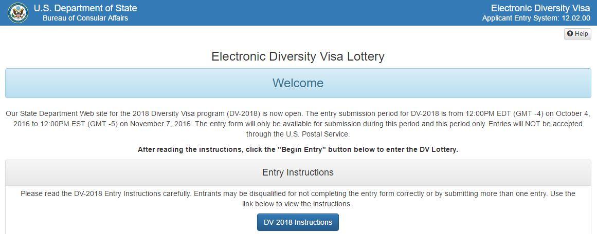 Portal oficial de la lotería