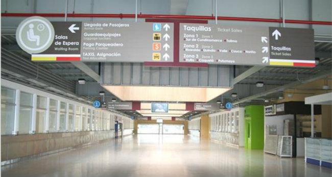 Terminal Salitre Sur en Bogota